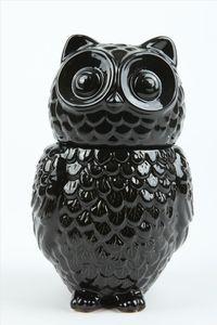 Ollie owl - black | Typo