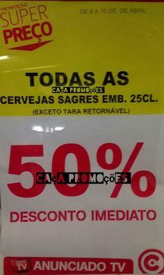 Promoções Continente - novo avistamento 50% desconto Só Hoje e Amanhã - http://parapoupar.com/promocoes-continente-novo-avistamento-50-desconto-so-hoje-e-amanha/