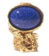 #Matchesfashion Arty oval ring by Yves Saint Laurent