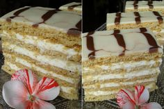 mod preparare prajitura frumoasa adormita Vanilla Cake, Diy And Crafts, Food And Drink, Dessert Ideas, Sweet, Desserts, Miami, Pastries, Diet