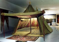 Appliqué on Egyptian-Ottoman War-Tents