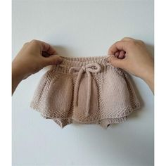 KNITTING PATTERN – Spring Duo Skorts PDF Knitting Pattern / Shorts and Skirt / Baby Bloomers / Knitted Romper / Photo Props / Months – Knitting patterns, knitting designs, knitting for beginners. Knitted Baby Clothes, Knitted Romper, Baby Knits, Patterned Shorts, Baby Knitting Patterns, Scarf Patterns, Knitting For Kids, Short Bebe, Crochet Baby Dresses