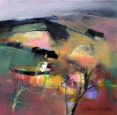 Patchwork of Spring Fields - Patricia Sadler