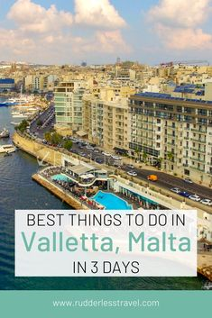 Find here the top things to do in Valletta Malta. Malta island is full of things to do and this stunning capital holds the best of the best. Enjoy the restaurants views and more! Malta Travel Guide, Europe Travel Guide, Travel Guides, Travel Advice, European Travel Tips, European Destination, Top Travel Destinations, Travel Pics, Malta Malta