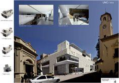 Concurso Centro Cultural de Córdoba - UNC, Mención - ARQA