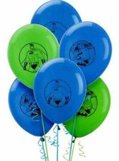 Latex Birthday Various Cartoon Character Balloons | eBay