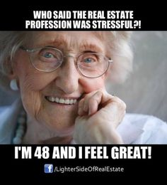 FUNNY! real estate comics stressful