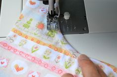 #tutorial on binding with knits! #sewing