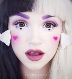 The next tutorial will be on a look from the music video Sippy Cup by the super cute and talented @littlebodybigheart Melanie Martinez signature tooth gap & all! If you don't know who she is, you're crazy but you still have time to catch up before this tutorial goes up! For updates on exactly when it'll be up check my Twitter (glam_and_gore) or subscribe to Glam&Gore on YouTube