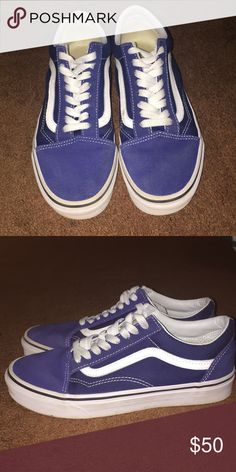 f019213cb3a642 Old skool Estate Vans They are slightly used by in very good condition. Vans  Shoes