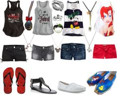 """Disney Summer Vacation Looks"" by hawkeyefan1847 on Polyvore"