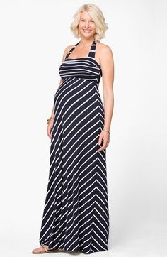 Ingrid & Isabel® Convertible Maternity Maxi Dress available at #Nordstrom
