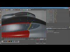 TUTORIAL - How to Model A Car In Cinema 4D starting from a CUBE - (Complete mode) Part2 - YouTube