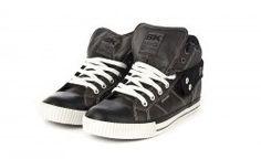 B, botín roco grey/black