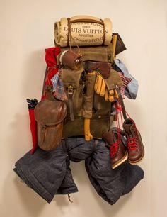 Element ~ Style Militaire Duffle Bag Sac à dos ~ robuste ~ Noir ~ avec Secure Lock