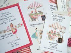 lady mason illustrations by Emma Block