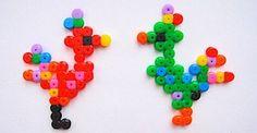 Hama beads birds