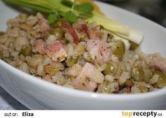 Šoulet recept - TopRecepty.cz Polenta, Quinoa, Potato Salad, Food And Drink, Potatoes, Treats, Chicken, Cooking, Ethnic Recipes