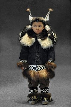 Four year-old Inupiaq boy, no name, date or location....
