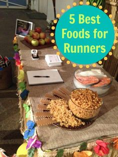 The 5 best foods for runners from @Brooks Running! (Bet at least one will surprise you!)