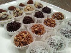 Chocoladetruffels, huisgemaakt! Maak chocolade truffels in verschillende smaken en verwen jezelf of je gasten met deze lekkernij.