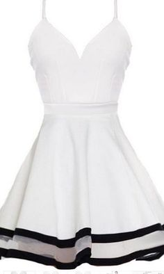 Short Homecoming Dress,white Homecoming Dress,cute Homecoming Dresses,Short Prom…