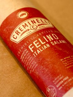 Creminelli Felino - Felino is the most ancient salami recipe on record. It is the sister to Prosicutto di Parma because anciently and often still today, it is made from the prized trimmings of prosciutto before it is salted.