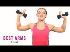 4 Easy Exercises for Super-Toned Arms