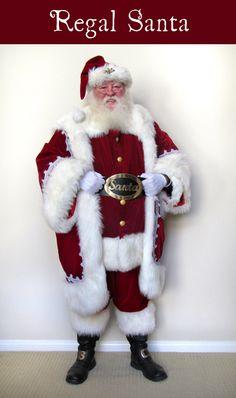 "#Santa Sal dressed in his ""Regal Santa"" suit  #Christmas #holiday"