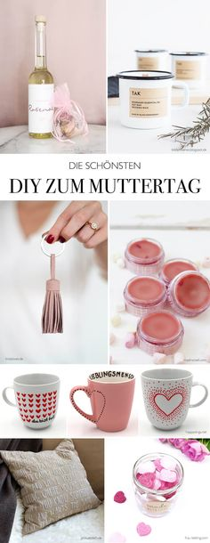 DIY IDEEN ZUM MUTTERTAG