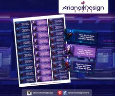exclusive designs for invitations, party kits and labels by ArianaDesignStore City State, Spider Verse, Kit, Address Labels, Spiderman, Etsy Seller, Printables, Invitations, Design
