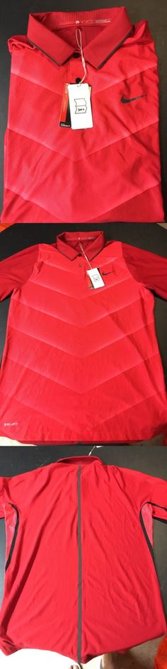 Shirts Tops and Sweaters 181138: 2016 Nike Tiger Woods Hypercool Fade Polo Shirt 726203-687 Size Medium Golf $110 -> BUY IT NOW ONLY: $35.99 on eBay!