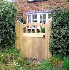 Wooden Garden Gates For Sale Small Garden Gates Wooden, Garden Gates For Sale, Wooden Garden Gate, Garden Gates And Fencing, Garden Front Of House, Wooden Gates, Garden In The Woods, Fence Gates, Side Gates