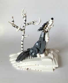 Miro Dudas - Call of the Wild - My second build of woodland brick-built animals. This time, a gray wolf, calling to others. Lastly, don't forget to check out my new Lego group called Bricks of Wildlife. If you have something to contribute that fits the theme, feel free to submit your or invite other's wildlife creations. If you are one of those builders, check your Flickr for pending invitations. ;) www.flickr.com/groups/bricksofwildlife/
