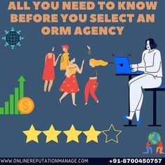 Answer these questions first before you select an #ORM agency!