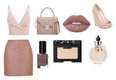 """""""Untitled #3"""" by lona-adil ❤ liked on Polyvore featuring Topshop, Alexander McQueen, Bobbi Brown Cosmetics, NARS Cosmetics, Lime Crime, Valentino and Jessica Simpson"""