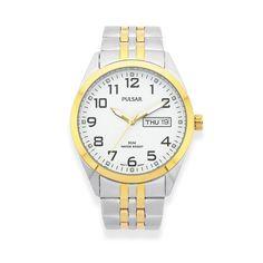 Pulsar Men's Watch (Model: PV3008X) Watch Model, Bracelet Watch, Watches For Men, Jewels, Band, Bracelets, Silver, Accessories, Mens Designer Watches