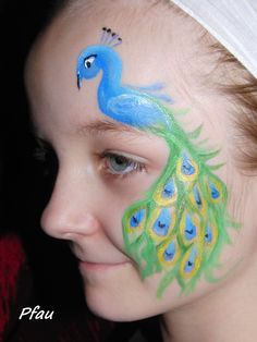 Image result for cute owl face paint ideas