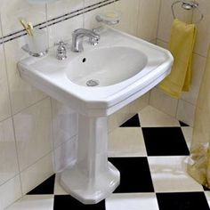 Replacing A Pedestal Sink With A Vanity : Pedestal sink, were replacing an over sized vanity with a sink ...