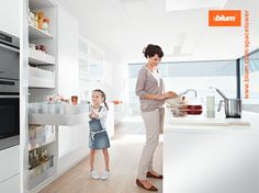 The SPACE TOWER pantry offers plenty of space. Every level can be pulled out individually, providing easy access to every packet of food. It comes in various widths so you can choose the right size to suit your storage requirements. Pantry Storage, Small Spaces, Kitchen Design, Things To Come, Bed, Easy Access, Furniture, Kitchens, Tower