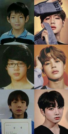 They were all so cute before debut, and they grew up to be even more attractive