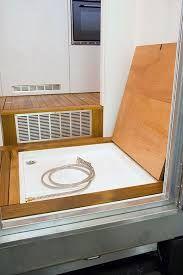 "Résultat de recherche d'images pour ""Mercedes Sprinter camper bathroom in the cut-away MB camper model"""