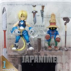 Final Fantasy IX 9 Extra Soldier Figure Zidane VIVI Bandai JAPAN SQUARE ENIX