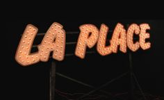 http://www.blacktool.tv making of the manufactORING of neon sign for LA PLACE