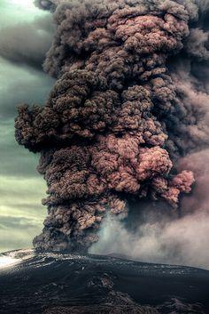 Close Portrait - Eyjafjalajokull Volcano, Iceland