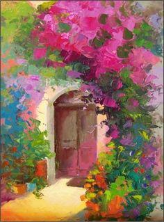 Doorway in Provence - Maryanne Jacobsen