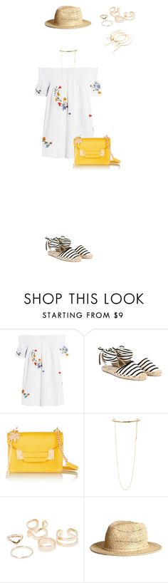 """""""952"""" by julialeskiv ❤ liked on Polyvore featuring Tory Burch, Soludos, Sophie Hulme, STELLA McCARTNEY, MANGO and H&M"""