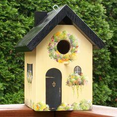 Vogelfutterhaus Deko Landhausstil