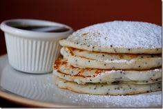 Lemon Poppyseed Pancakes - I love it!