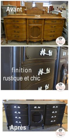 Commode Rustique Chic…et Glamour